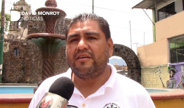 Víctor Morales, presidente del Consejo de Mejoramiento de Ocotepec